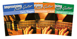 Improvising Bass Guitar Ebooks. Bass Guitar Books and Lessons.