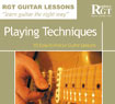 Guitar Playing Techniques Lessons / Ebooks